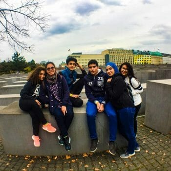 Nour's Reflection: Berlin